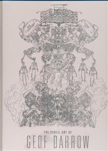 LEAD POISONING PENCIL ART OF GEOF DARROW HC