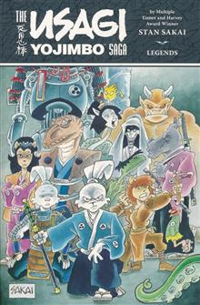 USAGI YOJIMBO SAGA LEGENDS TP