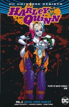 HARLEY QUINN TP VOL 02 JOKER LOVES HARLEY (REBIRTH)