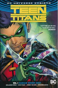 TEEN TITANS TP VOL 01 DAMIAN KNOWS BEST (REBIRTH)