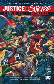 JUSTICE LEAGUE VS SUICIDE SQUAD HC (REBIRTH)