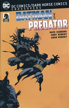 DC COMICS DARK HORSE BATMAN VS PREDATOR TP