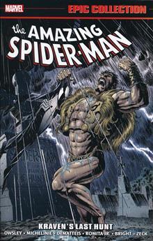 AMAZING SPIDER-MAN EPIC COLLECTION TP KRAVENS LAST HUNT