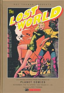 ROY THOMAS PRESENTS LOST WORLD HC