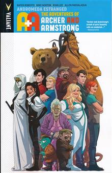 A&A ADV OF ARCHER & ARMSTRONG TP VOL 03 ANDROMEDA ESTRANGED