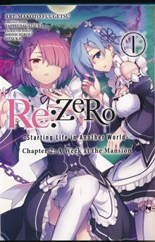 RE ZERO STARTING LIFE ANOTHER WORLD GN VOL 01 CHAPTER 2