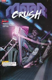 Motor Crush TP Vol 01 DCBS Exclusive