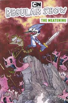 REGULAR SHOW ORIGINAL GN VOL 05 MEATENING