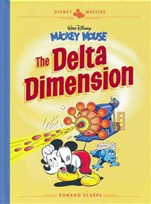 DISNEY MASTERS HC VOL 01 SCARPA MICKEY MOUSE DELTA DIMENSION