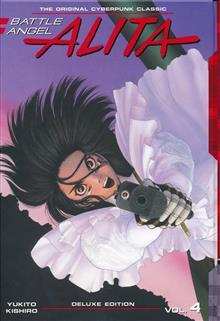 BATTLE ANGEL ALITA DELUXE ED VOL 04