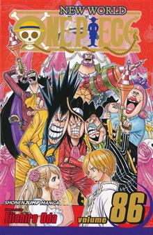 ONE PIECE GN VOL 86