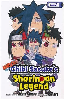 NARUTO CHIBI SASUKE SHARINGAN LEGEND GN VOL 03