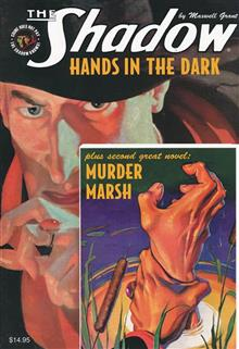 SHADOW DOUBLE NOVEL VOL 130 HANDS IN DARK & MURDER MARSH