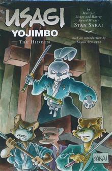 USAGI YOJIMBO LTD ED HC VOL 33 HIDDEN