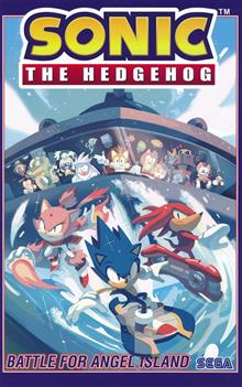 SONIC THE HEDGEHOG TP VOL 03 BATTLE FOR ANGEL ISLAND