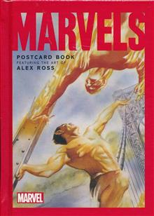 MARVELS POSTCARD BOOK HC