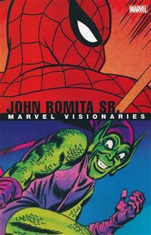 MARVEL VISIONARIES TP JOHN ROMITA SR