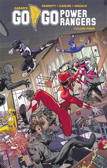 GO GO POWER RANGERS TP VOL 04