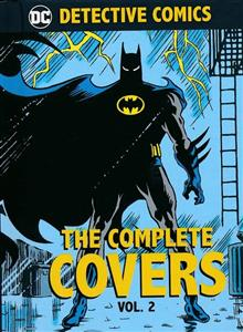 DC COMICS DETECTIVE COMICS COMP COVERS MINI HC VOL 02 (Book Size: 3.5x3 in.)
