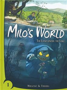 MILOS WORLD BOOK 01 LAND UNDER LAKE
