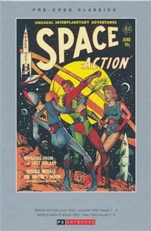PRE CODE CLASSICS SPACE ACTION WORLD WAR III HC VOL 01