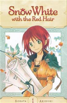 SNOW WHITE WITH RED HAIR GN VOL 01