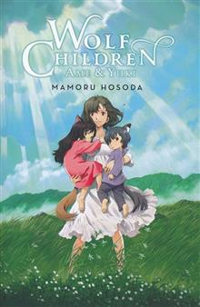 WOLF CHILDREN AME & YUKI LIGHT NOVEL HC