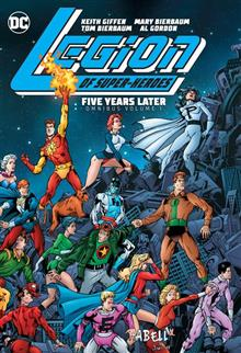 LEGION OF SUPER HEROES FIVE YEARS LATER OMNIBUS HC