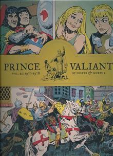 PRINCE VALIANT HC VOL 21 1977-1978 (C: 0-1-2)