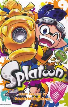 SPLATOON MANGA GN VOL 09