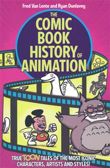 COMIC BOOK HISTORY OF ANIMATION TP