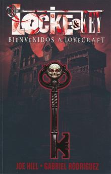 LOCKE & KEY SPANISH ED TP VOL 01 BIENVENIDOS A LOVECRAFT (RES)