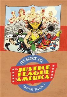 JUSTICE LEAGUE OF AMERICA THE BRONZE AGE OMNIBUS VOL 3 HC