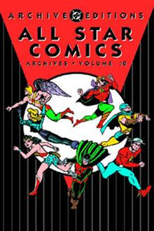 ALL STAR COMICS ARCHIVES VOL 10