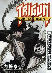 TRIGUN MAXIMUM TP VOL 10 WOLFWOOD
