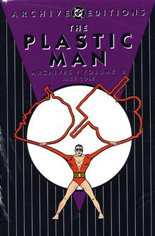 PLASTIC MAN ARCHIVES VOL 8 HC