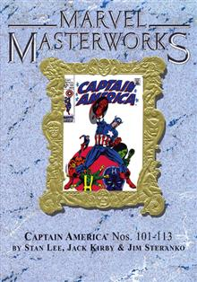 MMW CAPTAIN AMERICA VOL 3 HC VAR ED 64