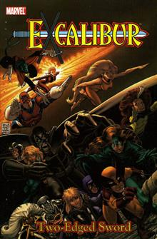 EXCALIBUR CLASSIC VOL 2 TWO EDGED SWORD TP