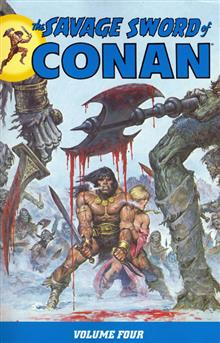 SAVAGE SWORD OF CONAN TP VOL 04 (C: 0-1-2)