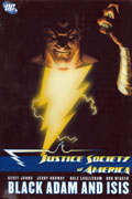 JUSTICE SOCIETY OF AMERICA VOL 5 BLACK ADAM AND ISIS HC