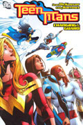 TEEN TITANS CHANGING OF THE GUARD TP