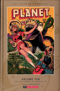 ROY THOMAS PRESENTS PLANET COMICS HC VOL 10