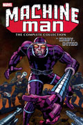 MACHINE MAN BY KIRBY AND DITKO COMPLETE COLLECTION TP