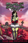 ZOMBIE TRAMP DLX HC YEAR 01 REGULAR CVR (MR)