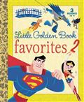 DC SUPER FRIENDS LITTLE GOLDEN BOOK FAVORITES #2