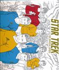 STAR TREK ORIGINAL SERIES ADULT COLORING BOOK TP VOL 02