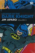 LEGENDS OF THE DARK KNIGHT JIM APARO HC VOL 03
