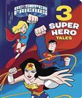 DC SUPER FRIENDS 3 SUPER HERO TALES BOARD BOOK