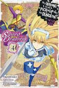 IS WRONG PICK UP GIRLS DUNGEON SWORD ORATORIA GN VOL 04