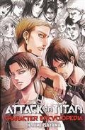 ATTACK ON TITAN CHARACTER ENCYCLOPEDIA SC (MR)